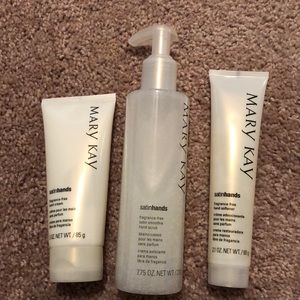 Fragrance free Satin Hands Pampering Set
